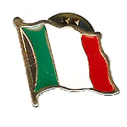 Spilla bandiera tricolore italia